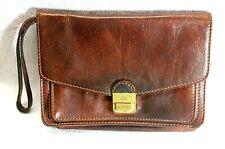 """alte Herren echt Leder Handtasche """"The Bridge"""", Vintage aus den 80er Jahren"""