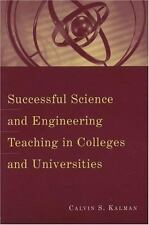Successful Science and Engineering Teaching in Colleges and-ExLibrary