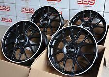 BBS CH-R Schwarz 4 Felgen 8,5 x 19 Zoll CH126 für Audi A6 + S6 / A7 + S7 Typ 4G