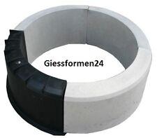 Eine Schalungsform Beton & Gips Giessformen für Garten Randstein Rundbogen TOP!