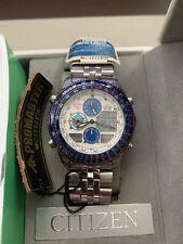Citizen Promaster JN0060-51A JASDF Blue Impulse Pilot Watch C300 Rare
