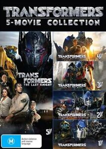 Transformers 5 Pack - Franchise Pack DVD