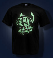 London After Midnight T shirt GLOW IN THE DARK T-SHIRT Lon Chaney CLASSIC HORROR