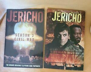 * EXCELLENT * Jericho SEASON 3 CIVIL WAR & Jericho SEASON 4 Graphic Novels