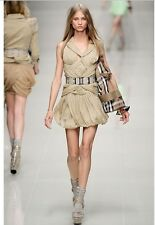 Burberry From Catwalk Authentic 100% XS  stunning dress size 36 3600$