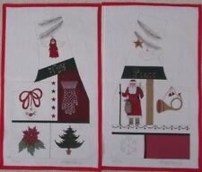 Sandy Jenkins  CHRISTMAS VEST # 202   Hand Painted Canvas New Condition size XL