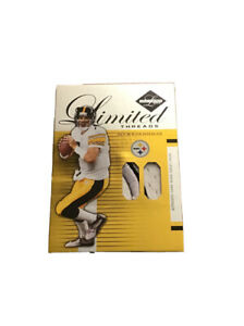 Ben Roethlisberger 2005 Leaf Limited Threads /50 Game Used Jersey/Patch Card