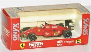 Onyx 1:43 006 Ferrari F1 87-88C Gerhard Berger OVP FH1825