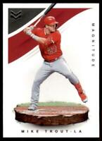 2020 Chronicles Magnitude #1 Mike Trout Los Angeles Angels