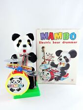 MAMBO Electric Bear Drummer panda Son Ai Toy battery operated in Original Box