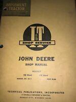 JOHN DEERE Models 720, 730 Diesel SHOP MANUAL