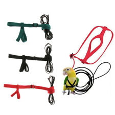 Cotton Anti-bite Flying Training Rope Parrot Bird Leash Harness Leash