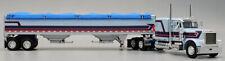 """DCP34013 BLUE 1/64 PETERBILT 379 60"""" W/ MATCHING HOPPER"""