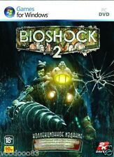 Bioshock 2 Collectors Edition (PC, 2010) Russian version, VERY RARE! Stackable!