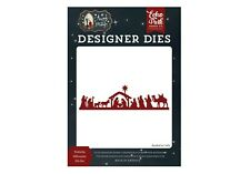 New listing Echo Park Paper Away In A Manger Christmas Nativity Silhouette Die Set