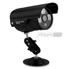 "Caméra CCTV CMOS 1/3"" 1000TVL HD 3LEDs IR Surveillance Nuit Étanche Extérieur"