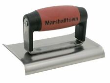 "Marshalltown M136D Cement Edger Edging Trowel Durasoft Handle Curved End 6"" x 3"""