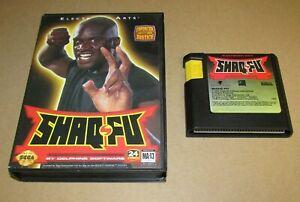 Shaq-Fu With Case for Sega Genesis Fast Shipping!