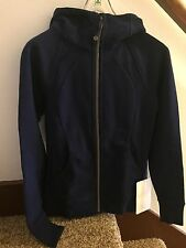 NWT Lululemon 2015 Scuba Hoodie IV SZ 2 HOBE Hero Blue READ SHIP