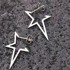 Fashion Punk Stainless Steel Ear Stud Unisex Piercing Earrings Dangle Jewelry