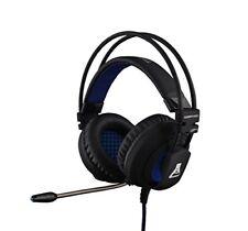 Auriculares con Micrófono Bluestork Korp400 Binaurale Negro/azul