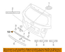 KIA OEM 03-09 Sorento FRONT DOOR-Body Side Molding Bolt 877333E000