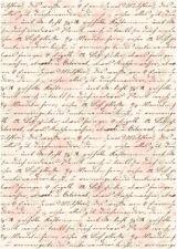 Reispapier-Motiv Strohseide-Decoupage-Serviettentechnik-Vintage-French-R1186