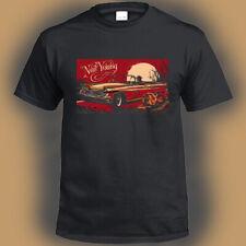 Neil Young and Crazy Horse Old Logo Men's Black T-Shirt Size S M L XL 2XL 3XL