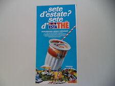 advertising Pubblicità 1978 ESTATHE' ESTA THE' FERRERO