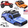 """RGT PC Body Shell Wrangler 12.3"""" (313mm) For Axial SCX10 Redcat 1:10 RC Crawler"""