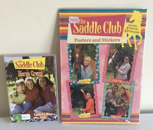 The Saddle Club DVD & Posters And Stickers