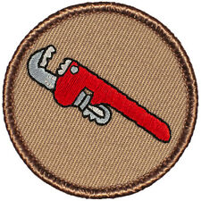 Outstanding Boy Scout Patch - (#050) Monkey Wrench Patrol!