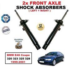 ANTERIORE SINISTRA + DESTRA Ammortizzatori Per BMW E46 COUPE 320 323 325 328 1999-2001