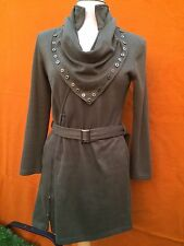 VANGELICA military style warm dress in khaki colour, size Large.