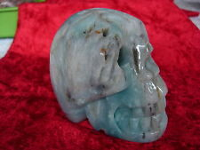 Crystal Skull chinese amazonite cs 162