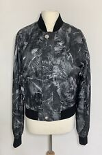 New Versace VERSUS Palm Print Bomber Jacket, IT 48