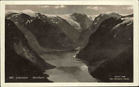 Loenvann Norwegen Norge Sogn og Fjordane ~1930 Nordfjord Fjord Berge Gebirge See