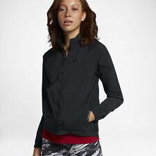 Nike Sportswear Tech Hypermesh Running Jacket Black Women's Size XL 836463-010