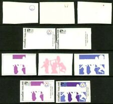 Thailand 1978 Asian Games 2b progressive plate proofs