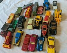 Vintage Diecast Matchbox Hotwheel + Other Vehicles Cars Trucks + Repair Parts