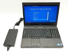 """Dell Precision M4600 15.6"""" i7-2760QM 2.40GHz 8GB 1TB Win10 AMD M5950 Laptop"""