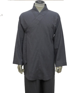 High Quality Shaolin Monk Daily Kung Fu Farm Clothes Meditating Training Clothes