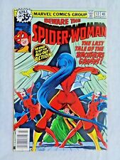 The Spider-Woman  Vol. 1 No. 12 March 1979 Marvel Comics 1st Printing NM- (9.2)