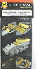 Griffon Model 1/35th Scale Upper Folding Armor Plates for German Gepard L35A016
