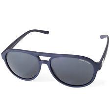 Armani Exchange AX4055S 815787 Matte Navy Blue/Grey Men's Aviator Sunglasses
