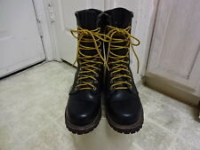 RED WING FIRE FIGHTER BOOTS MADE IN USA GREAT COND NOT MUCH USED WOMEN 5 D