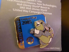 Disney Trading Pins 40858 WDW - United Way 2005 Participant (Thumper)
