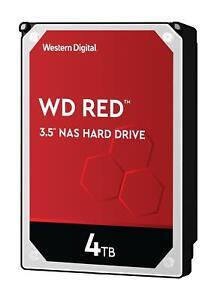 "WD 4TB Red NAS Hard Drive 3.5"" SATA 6Gb/s 5400 RPM 256MB Cache"