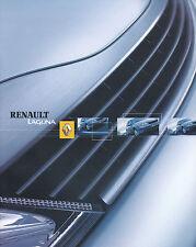 Prospekt Renault Laguna 2003 Autoprospekt 7 03 Auto PKWs Frankreich brochure