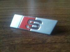 Original AUDI S-LINE Emblem Clip Lenkrad